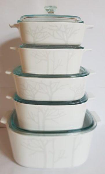CorningWare Chef 10pcs Classic Set Frost