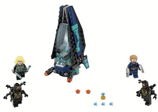 LEGO 76101 Outrider Dropship Attack Toy