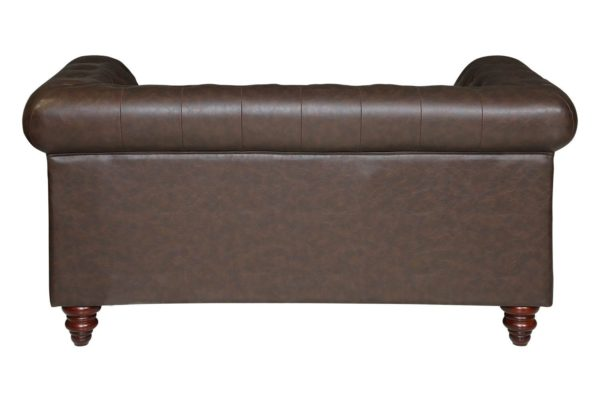 Pan Emirates Orbital 2 Seater Sofa Brown