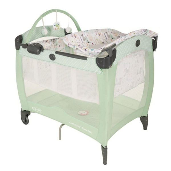 Graco 1913582 Mirage Plus Toy Town Baby Travel System
