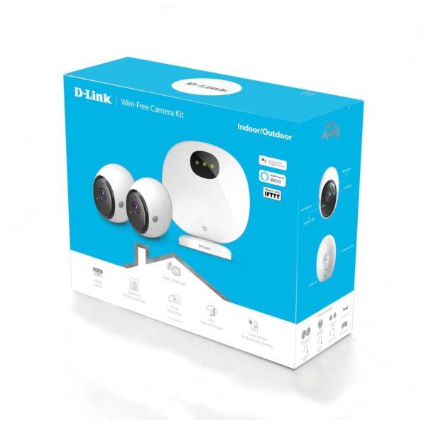 Dlink DCS-2802KT Mydlink Wire-Free Camera Kit