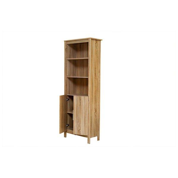 Pan Emirates Newman Book Case Oak Natural