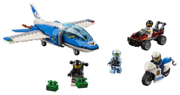 LEGO 60208 Sky Police Parachute Arrest Toy