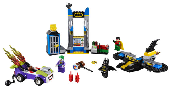 LEGO 10753 The Joker Batcave Attack Toy
