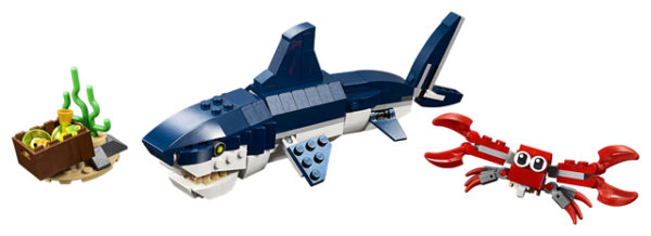 LEGO 31088 Deep Sea Creatures Toy
