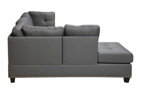 Pan Emirates Oceanic Corner Sofa Set Grey