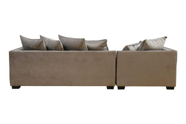 Pan Emirates Roxanne Corner Sofa Set (LHF) Grey