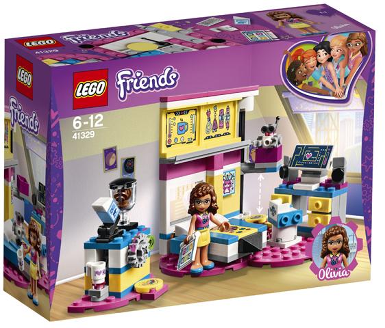 LEGO 41329 Olivia's Deluxe Bedroom Toy