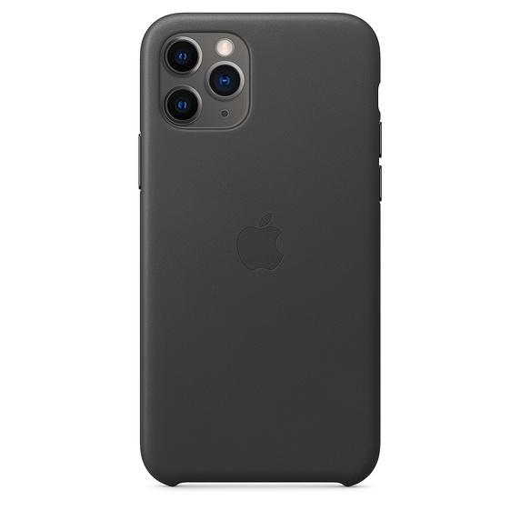 Apple Leather Case Black iPhone 11 Pro