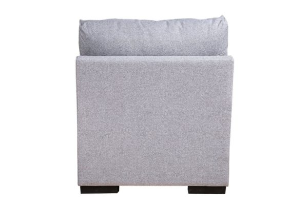 Pan Emirates Weltex Arm Less Single Seater Sofa Silver