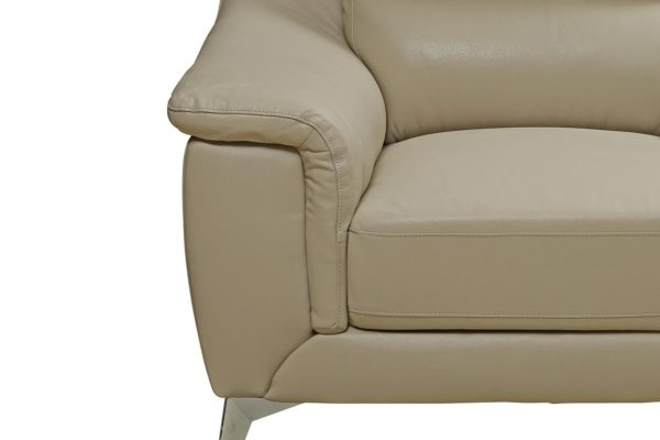 Pan Emirates Berliner Single Seater Sofa Beige