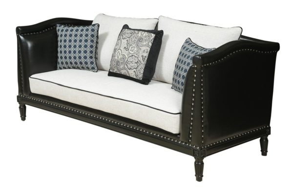 Pan Emirates Blackton 2 Seater Sofa Black