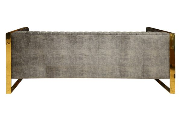 Pan Emirates Shaddy 3 Seater Sofa Grey