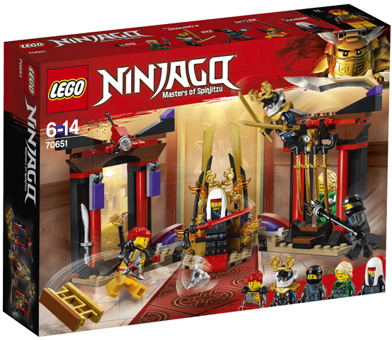 LEGO 70651 Throne Room Showdown Toy