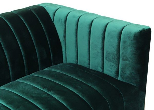 Pan Emirates Sakhalin 3 Seater Sofa Green