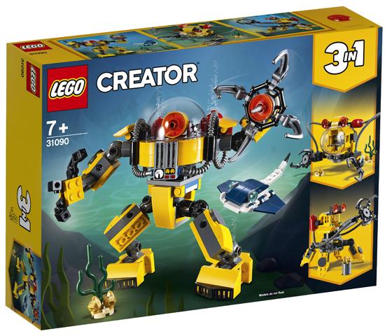 LEGO 31090 Underwater Robot Toy
