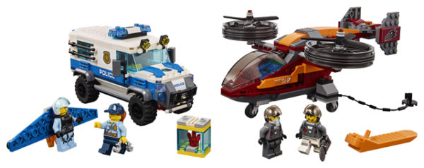 LEGO 60209 Sky Police Diamond Heist Toy