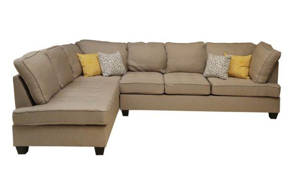 Pan Emirates Bluebell Corner Sofa Beige