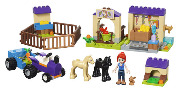 LEGO 41361 Mia's Foal Stole Toy