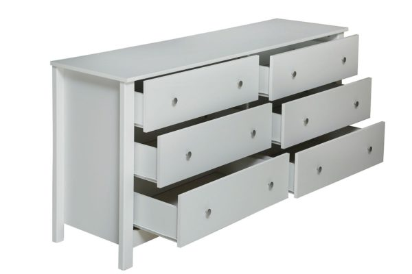 Pan Emirates Elitre Chest Of Drawer White