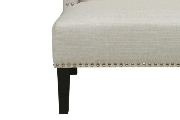 Pan Emirates Damasco 2 Seater Sofa Armless Beige