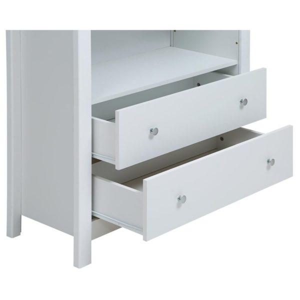 Pan Emirates Haynes Book Shelf With 2 Drawer White