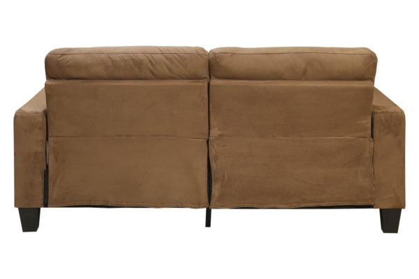Pan Emirates Novica 3 Seater Sofa Brown
