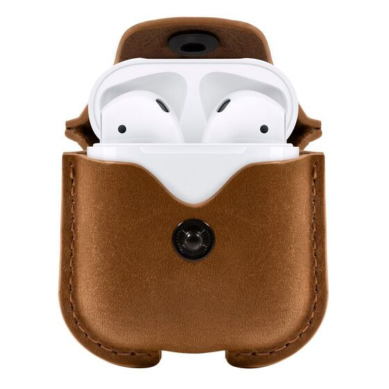 Twelve South TS-12-1803 Airpods Airsnap Case - Cognac