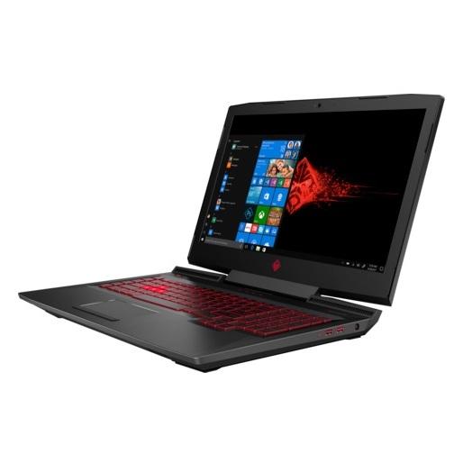 HP Omen 17-AN104NE Gaming Laptop - Core i7 2.2GHz 16GB 1TB+256GB 8GB Win10 17.3inch FHD Shadow Black