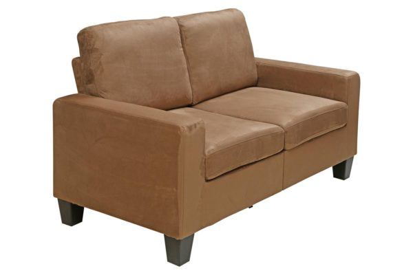 Pan Emirates Novica 2 Seater Sofa Brown