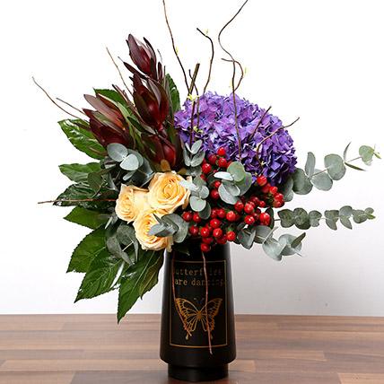 Exotic Floral Arrangement