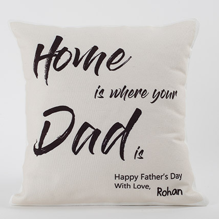 Cushion Printed Dad Is Home