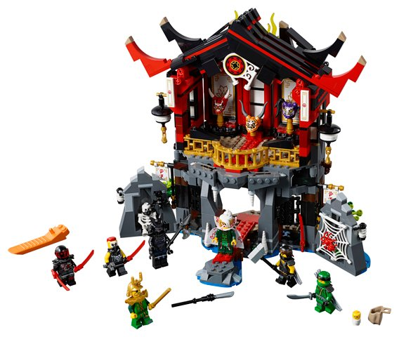 LEGO 70643 Temple of Resurrection Toy