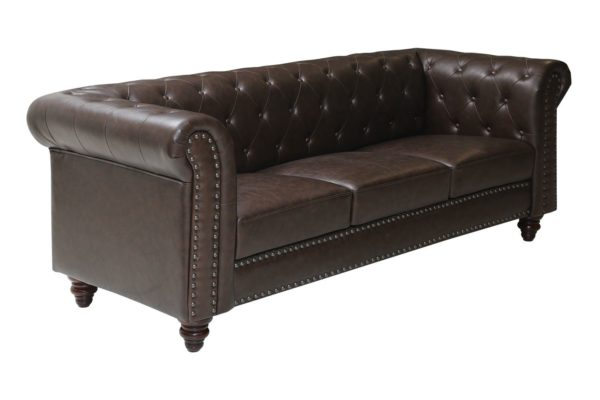 Pan Emirates Orbital 3 Seater Sofa Brown