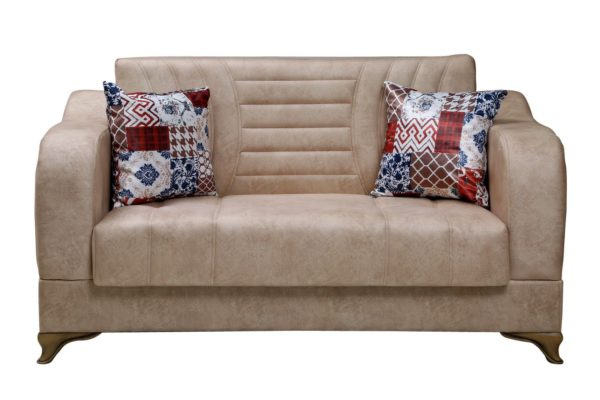 Pan Emirates Bluestone 2 Seater Sofa Cream