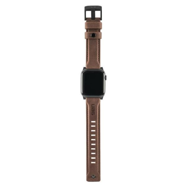 UAG Leather Strap Brown For Apple Watch 44/42mm