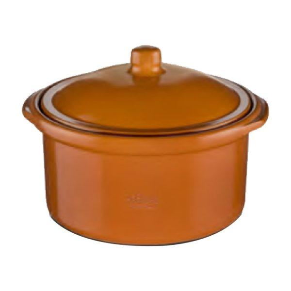 Regas Clay Pot Cocotte Casserole 25Cm #201