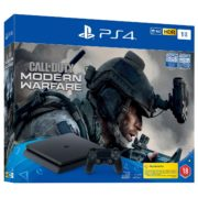 Sony PS4 Slim Gaming Console 1TB Black + Call Of Duty Modern Warfare Game