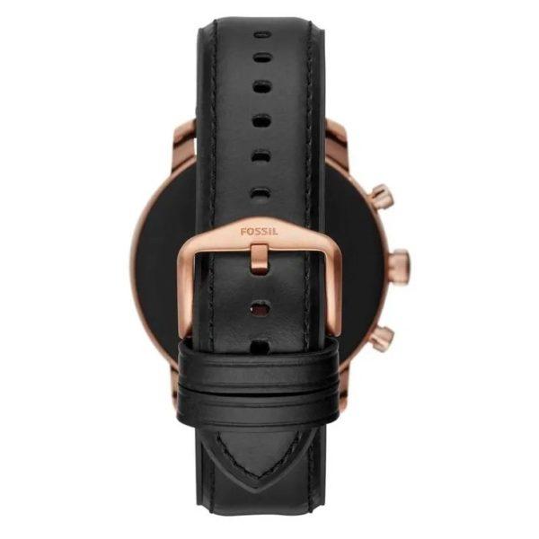 Fossil Gen4 Smartwatch Black Leather Men
