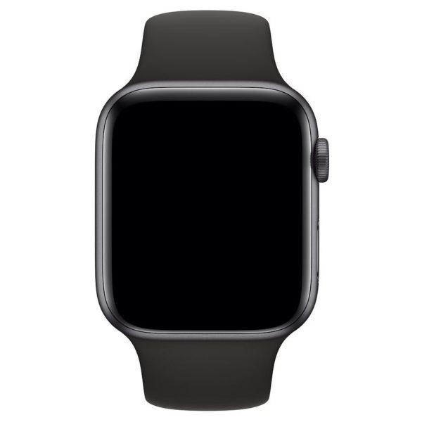 Maxguard Silicone Sports Strap 42/44mm Black For Apple Watch