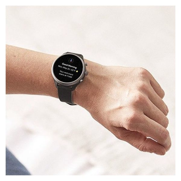 Fossil Gen4 Smartwatch Black Silicone Men