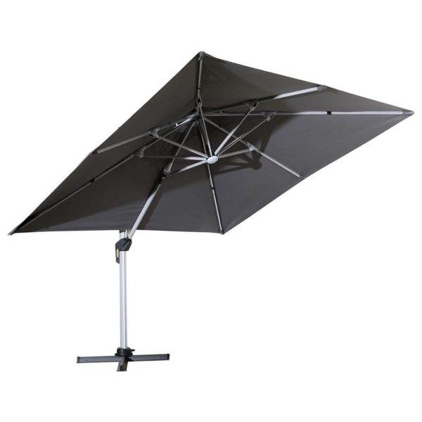 Pan Emirates Padraig Outdoor Umbrella Grey