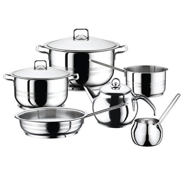 Hascevher Cooking Pot Gastro 9pcs Set