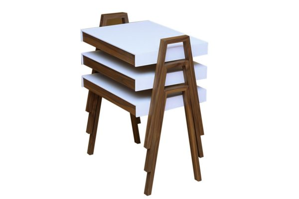 Pan Emirates Buxton Nesting Table 3pcs Set