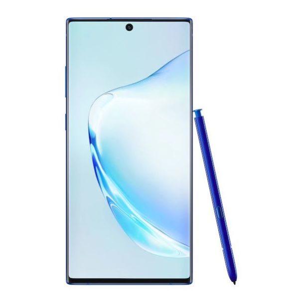 Samsung Note10+ 5G 256GB Aura Blue Smartphone SM-N976