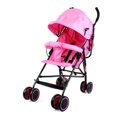 Baby Plus Light Weight Stroller Pink
