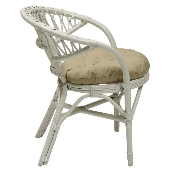 Pan Emirates Santona Garden Chair White
