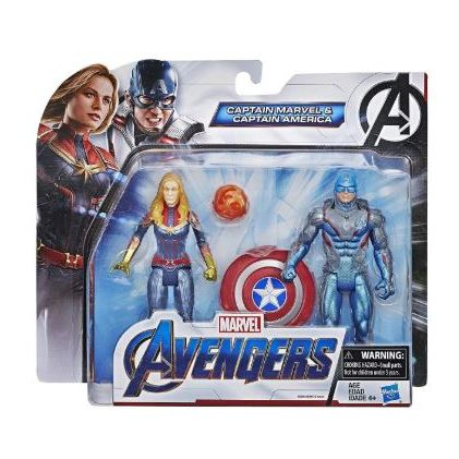 Hasbro Captain America & Captain Marvel Team Pack