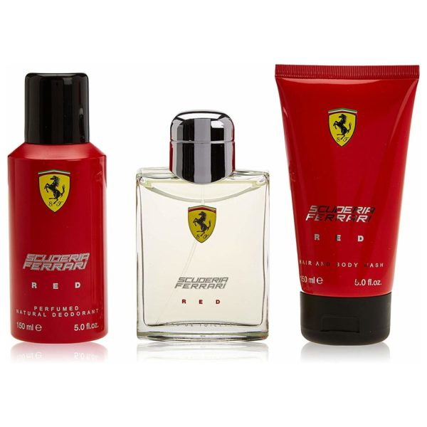 Ferrari Scuderia Red Men Giftset