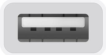 Apple USB-C to USB Adapter - White